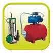 Pumps and pressure containers