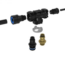 Raufoss pneumatic components series ABC and BRK for vehicle upgrades